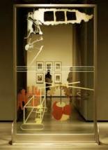 Fig.3 Marcel Duchamp, El Gran Vidrio o La Mariée mise à nu par ses célibataires, même